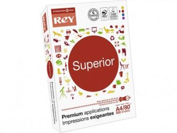 Carta per fotocopie A4 bianca INTERNATIONAL PAPER Rey Superior 80 g/m² 170 CIE  (5 risme da 500 fogli)