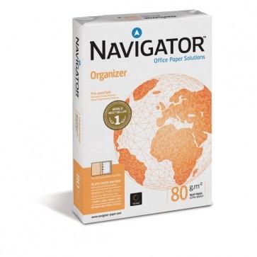 Risma carta perforata 4 fori Navigator formato A4