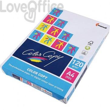 Risma carta A4 da 120 g/mq color copy mondy