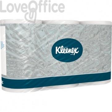 Carta igienica KLEENEX Ultra 200 Kimberly Clark - 2 veli - 350 strappi - 8442 (conf.8)