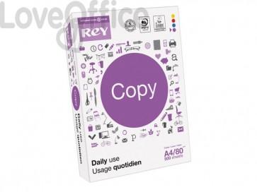 Carta per fotocopie A4 INTERNATIONAL PAPER Rey Copy 153 CIE 500 ff bianco RYCOP080X461