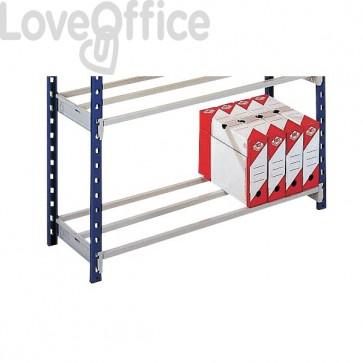 Staffe per aggiungere 1 ripiano alla scaffalatura metallica RANG'ECO+ Paperflow - 100x80 cm