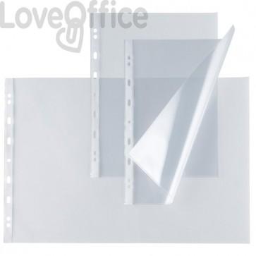 Buste a perforazione universale A4 - Atla E Atla T Sei Rota - Liscia - 22x30 cm - Medio (Conf.50)