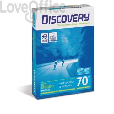 Risme di carta da fotocopie Discovery 70 - A4 - 70 g/mq (minipallet 50 risme)