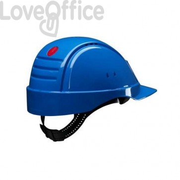 casco antinfortunistico 3m blu