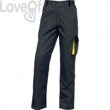 Pantalone da lavoro DMPAN Delta Plus - grigio/giallo - XL - DMPANGJXG