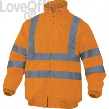 Giubbotto alta visibilità Delta Plus - arancione fluo - L - RENHVORGT