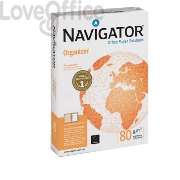 Risma carta perforata 2 fori Navigator A4