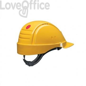 casco antinfortunistico giallo
