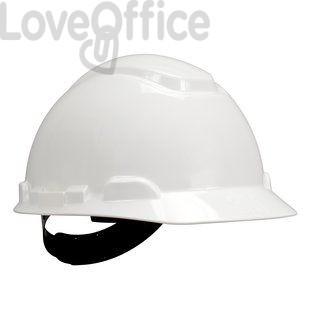 casco di sicurezza bianco