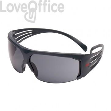 Occhiali di protezione 3M lenti grigie in PC