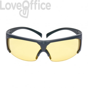 Occhiali di protezione 3M lenti gialle in Policarbonato