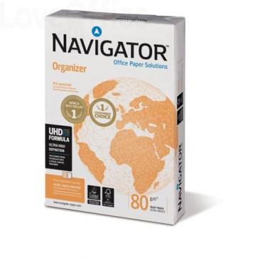 Risme di Carta A4 perforata - per archiviazione - Navigator - 4 fori - NOR0800162 (conf.5)