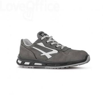 Scarpe antinfortunistiche in pelle Nabuk Idro Kick S3 U-Power grigio-bianco n° 44