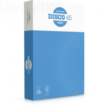 Carta per fotocopie Burgo Distribuzione Disco 45 A4 70 g/mq (240 risme da 500 fogli cad.)