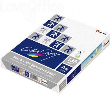 Cartoncini bianchi Color Copy coated glossy - Risma Carta lucida A4 - 200 g/mq (250 fogli)