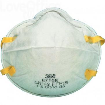 Respiratore a conchiglia 3M - polveri e fumi - FFP1 - 9922 (conf.20)
