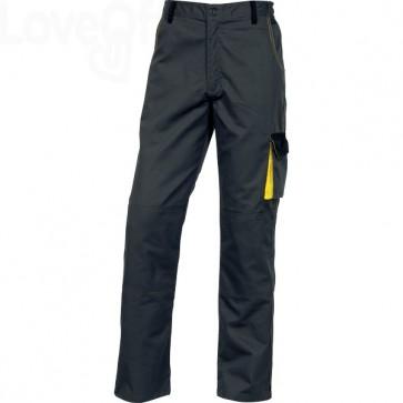 Pantaloni da lavoro Delta Plus DMPAN - grigio/giallo - XXL