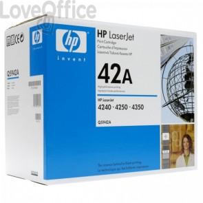Originale HP Q5942A Toner smart 42A nero