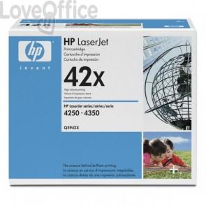 Originale HP Q5942X Toner alta capacità 42X nero
