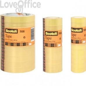 Nastro nastro adesivo trasparente Scotch® 508 - 15 mm x 10 m (conf.10)