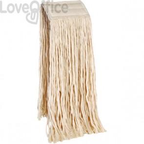 Mop per pavimenti Perfetto - cotone - 40 cm - 400 gr - 0026H