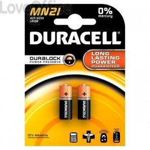 Pile Duracell Specialistiche - cilindrica 12 volt - MN21/MN21BL2 (conf.2)