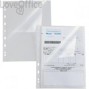 Buste perforate trasparenti a L Atla A Sei Rota - 22x30 cm - goffrata (conf.25)