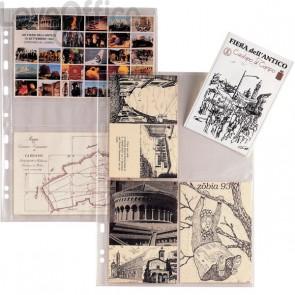 Buste portafoto 10x15 cm trasparenti - Atla FT Sei Rota - A4 - 8 scomparti (conf.10)