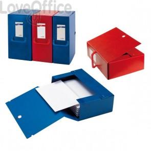 Cartelle portaprogetti Big Sei Rota - Dorso 20 - 25x35 cm - rosso