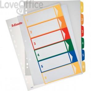 Rubrica numerica PPL Maxi stampabile al PC Esselte - 6 tasti scrivibili - 100212