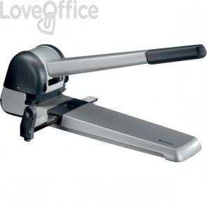 Super-perforatore Leitz 5182 - 250 fogli - grigio/grigio metallizzato - 51820184