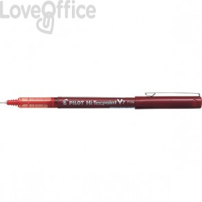Roller V 7 Pilot - rosso - ad ago 0,7 mm - 011712
