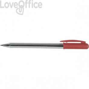 Penne a sfera Tratto 1 - rosso - 1 mm (conf.50)