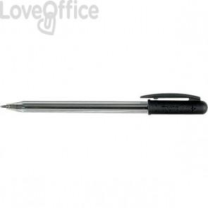 Penne a sfera Tratto 1 - nero - 1 mm (conf.50)
