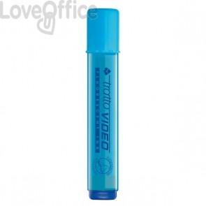 Evidenziatore Tratto Video - azzurro - 1- 5 mm - 830205 (conf.12)