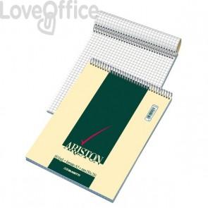 Blocchi punto metallico ARISTON Blasetti - A4 - bianco - 70 fogli (conf.10)