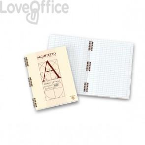Quaderno con spirale ARCHITETTO Pigna - A4 - 10 mm - 40 fogli