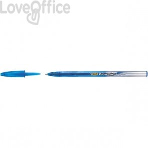 Penna gel Cristal Gel Bic - blu - 0,8 mm - 919234 (conf.20)