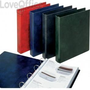 Raccoglitori Prestige Esselte - dorso 7,5 cm - 24.5x30 cm - blu