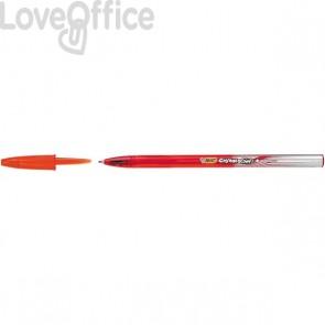 Penna gel Cristal Gel Bic - rosso - 0,8 mm (conf.20)