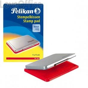 Cuscinetti inchiostrati per timbri Pelikan - rosso - n° 2 - 7x11 cm - 0BEB14