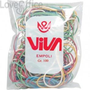 Elastici colorati Viva (busta da 100 g)