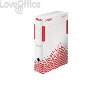 Scatole archivio Speedbox Esselte dorso 8 in cartone - 8x25x35 cm (conf.25)