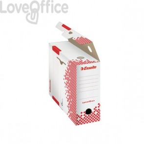 Scatole archivio Speedbox Esselte dorso 10 in cartone - 10x25x35 cm (conf. 25)