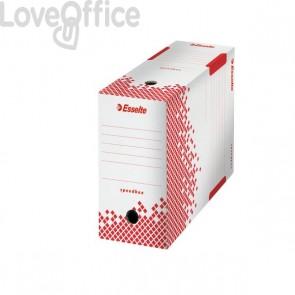 Scatole archivio Speedbox Esselte dorso 15 in cartone - 15x25x35 cm (conf.25)