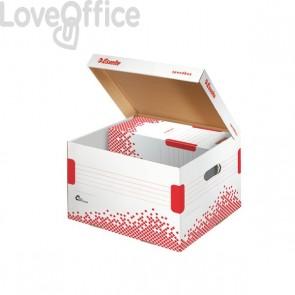 Scatole archivio Speedbox Esselte in cartone - 32,5x26,3x36,7mm (conf.15)
