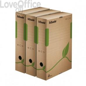 Scatole archivio Box Eco Esselte dorso 8 cm - 8x23,3x32,7 cm (conf.25)
