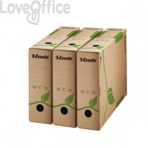Scatole archivio Box Eco Esselte dorso 10 cm - 10x23,3x32,7 cm (conf.25)