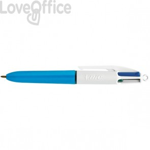 Penna a sfera 4 Colours™ Bic - assortita - 1 mm - 895958